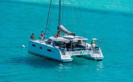 Segelyacht Charter Kroatien - Nautitech Open 40 Blue Point